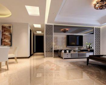 现代简约风格90平米两居室房子装修效果图
