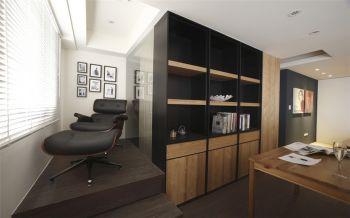 书房照片墙现代简约风格装修设计图片