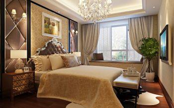 卧室飘窗欧式风格装修图片