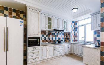 厨房背景墙地中海风格装饰图片