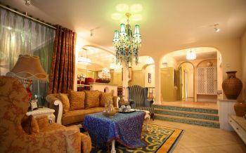 地中海风格160平米套房装修效果图