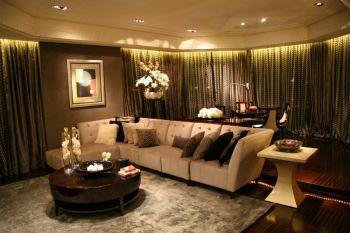 古典风格160平米三居室房子装修效果图