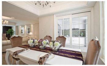 现代欧式风格90平米三居室房子装修效果图