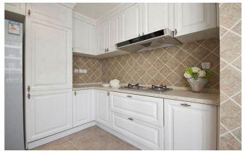 厨房背景墙现代欧式风格装潢效果图
