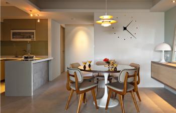 现代简约风格160平米公寓装修效果图