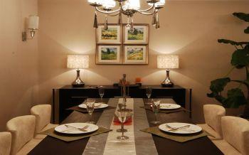 餐厅照片墙现代简约风格装修设计图片