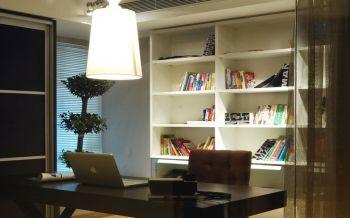 书房隔断现代简约风格装修效果图