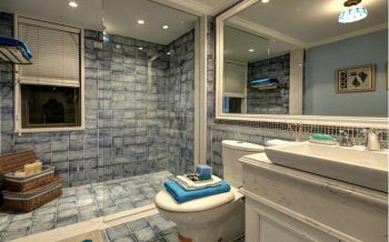 卫生间洗漱台美式风格装潢图片