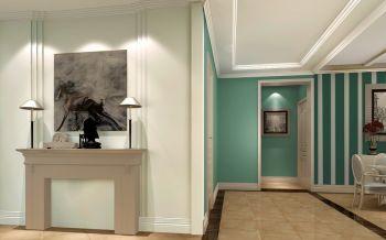 走廊简欧风格装潢效果图