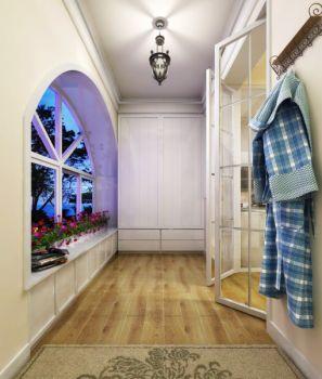 玄关窗台田园风格装潢图片