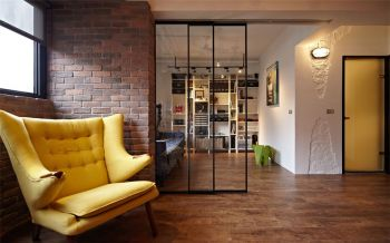 客厅隔断后现代风格装饰效果图