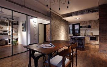 餐厅隔断后现代风格装潢效果图