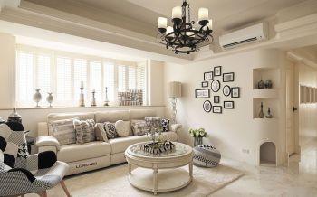 地中海风格110平米套房装修效果图