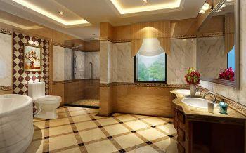 卫生间欧式风格装潢图片