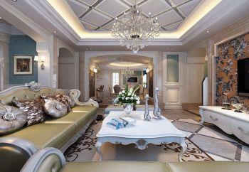 欧式风格160平方米苏园三居室装修效果图