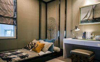 卧室榻榻米现代简约风格装潢图片