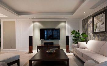 现代风格160平米二居室房子装修效果图