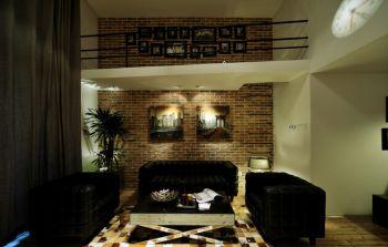 后现代风格70平米一居室房子装修效果图