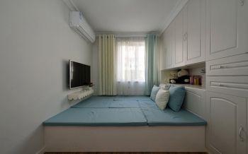 卧室榻榻米地中海风格装潢设计图片