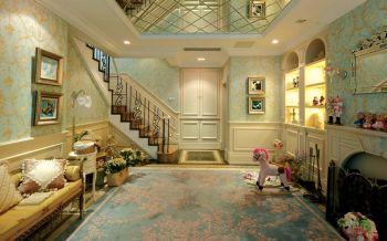 欧式风格160平米万科渝园家装别墅装修效果图
