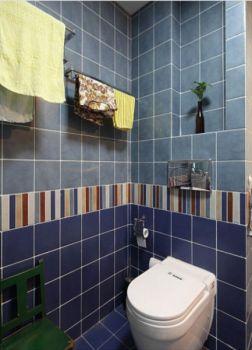 卫生间背景墙地中海风格装饰效果图
