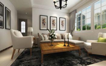 7.3万装修预算90平米两居室装潢效果图欣赏
