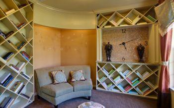 书房书架美式风格装修图片