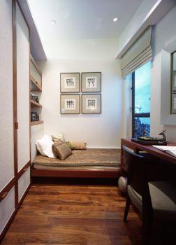 卧室白色照片墙中式风格效果图