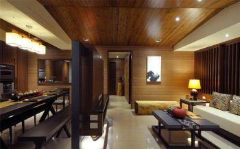 客厅隔断韩式风格装修效果图