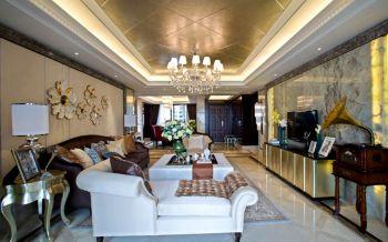 简欧风格160平米大户型房子装修效果图