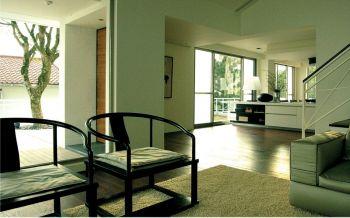 客厅灰色细节现代简约风格装潢图片
