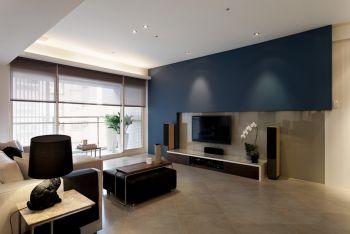 现代简约风格80平米小户型房子装修效果图
