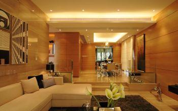 2020现代简约客厅装修设计 2020现代简约走廊效果图