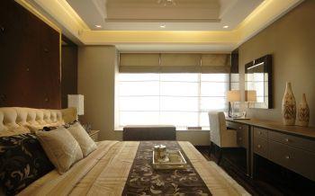 浪漫卧室现代装饰实景图