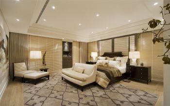 卧室白色吊顶现代简约风格装修设计图片