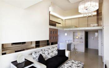 现代简约U乐国际90平米复式公寓u乐娱乐平台优乐娱乐官网欢迎您