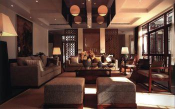 中式风格168平米庭院装修效果图