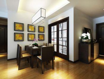玄关白色背景墙现代风格装修效果图