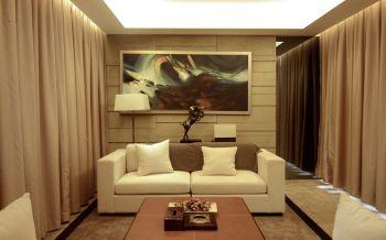 现代简约风格80平米两居室房子装修效果图