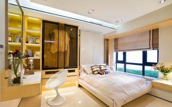 卧室白色背景墙欧式风格装饰图片