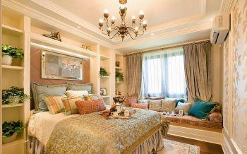 卧室黄色窗帘现代简约风格装修效果图