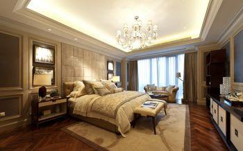 卧室黄色床欧式风格装饰设计图片