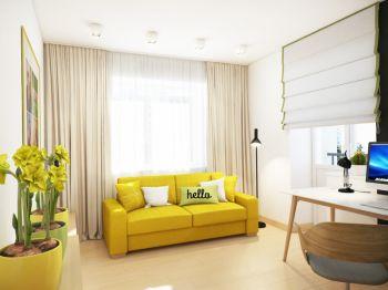清新客厅现代室内装修图片