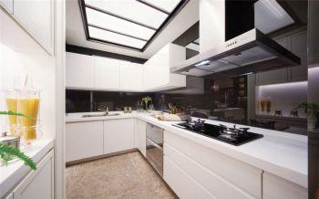 2020现代简约厨房装修图 2020现代简约厨房岛台效果图