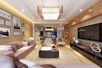 现代风格120平米四居室房子装修效果图