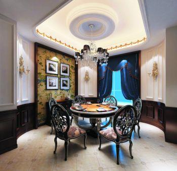 欧式风格160平米别墅装修设计图