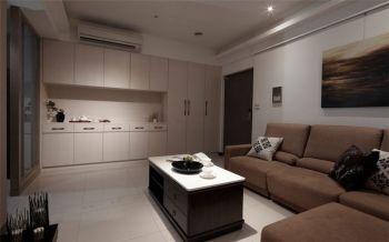 简约风格90平米二居室装修效果图