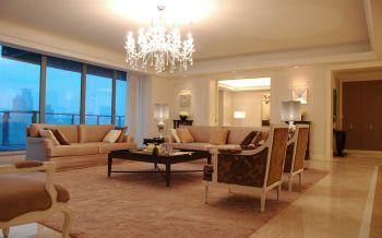 简欧风格160平米三居室装修效果图
