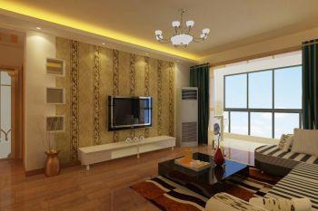 现代风格160平米三居室新房装修效果图