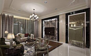 现代混搭风格120平米三居室装修效果图赏析
